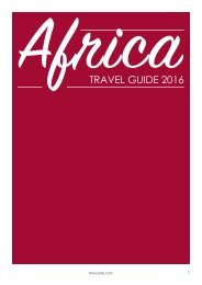 Africa Travel Guide 2016