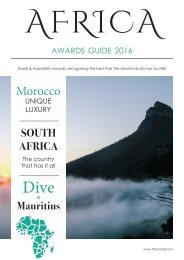 Africa Awards Guide 2016