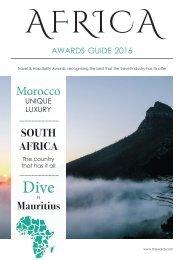 Travel & Hospitality Awards | Africa Awards Guide 2017 | www.thawards.com