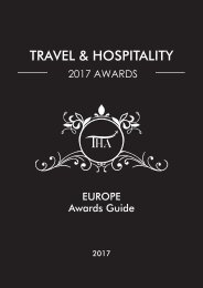 Europe Awards Guide 2017
