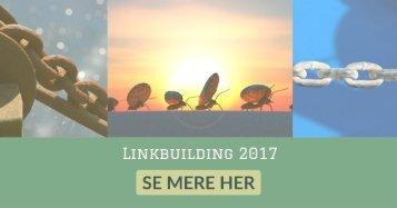 Linkbuilding 2017