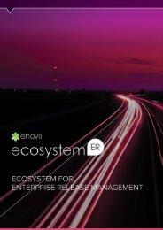 Enov8 – Ecosystem For Enterprise Release Management