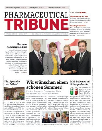Pharmaceutical Tribune 13/2017