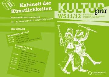 SINgER- SoNgWRITER- NAchT - Studentenwerk OstNiedersachsen