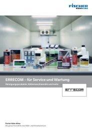 ERRECOM - für Service und Wartung Broschüre