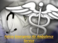 Call for Patient Shifting by Air Ambulance Service in Siliguri and Lucknow