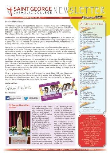 Newsletter Summer 2017