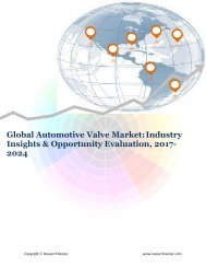 Global Automotive Valve Market (2017-2024)- Research Nester