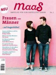 maaS No.2 Blick ins Heft