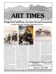 Eugene Ludins: An American Fantasist - Art Times