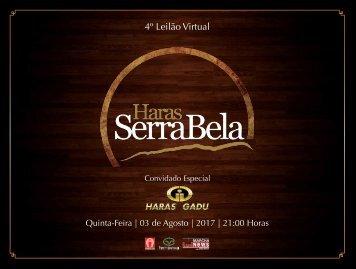 Serra Bela - Catalogo Leilao 2017