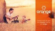 Apresentação de Seguros Orange