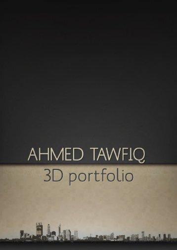 Ahmed tawfiq 3d-portfolio