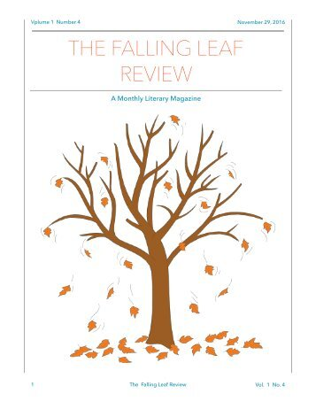 The Falling Leaf Review, Vol. 1 No. 4