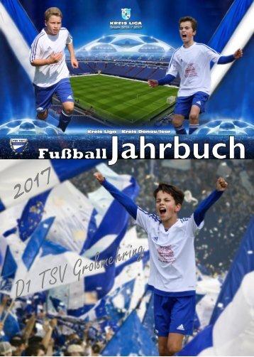 Jahrbuch_D1 TSV Großmehring 2016/2017
