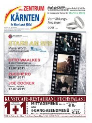 Ausgabe 02.2011 (PDF-Format, ca. 2,9 MB - Zentrum Kärnten in ...