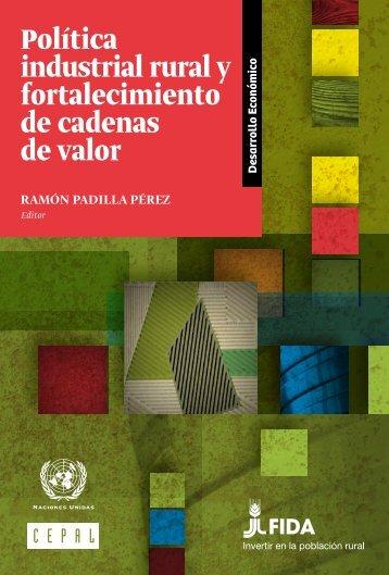 Política industrial rural y fortalecimiento de cadenas de valor
