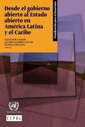 Desde el gobierno abierto al Estado abierto en América Latina y el Caribe
