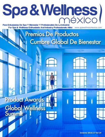 Spa & Wellness MexiCaribe 24, Invierno 2016