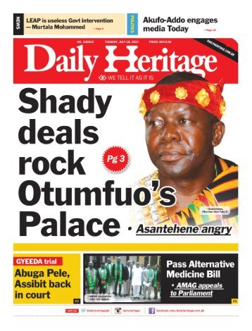 Daily Heritage July 18