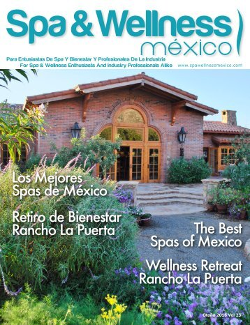 Spa & Wellness MexiCaribe 23, Otoño 2016