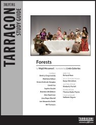 STUDY GUIDE Forests - Tarragon Theatre