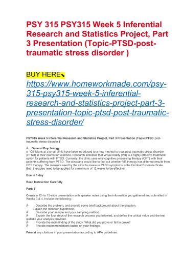 psy315 week 4 Psy 315 week 4 week four practice problems worksheet  documents similar to psy 315 psy315doc skip carousel carousel previous carousel next els sfr14a hdout genrl.