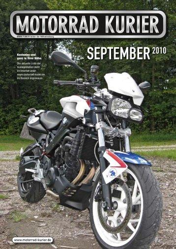 Mo-Cache - Motorrad-Kurier