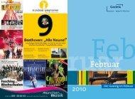 2010 Der Gasteig im Februar