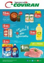 Folleto Supermercados Coviran del 18 al 29 de Julio 2017