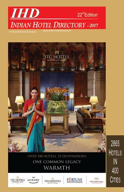 IHD-Indian Hotel Directory 2017