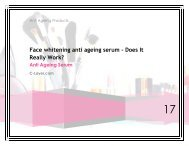Face whitening anti ageing serum - Does It Really Work?