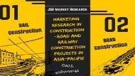 Construction Market Research - Road and Railway Construction Projects in Asia-Pacific