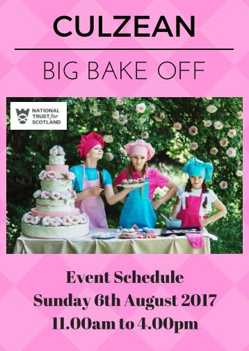 Culzean Big Bake Off