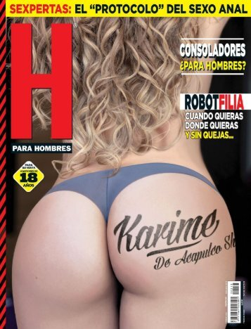 [FamosasDeRevista.Net] - Karime Pindter H Para Hombres Febrero 2017