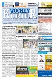 Wochen-Kurier 29/2017 - Lokalzeitung für Weiterstadt und Büttelborn