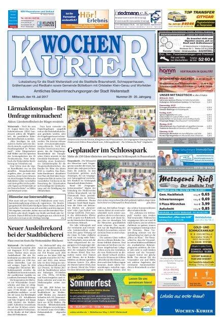 Wochen Kurier 292017 Lokalzeitung Für Weiterstadt Und Büttelborn