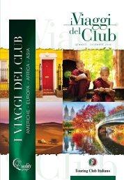 I Viaggi del Club 2018
