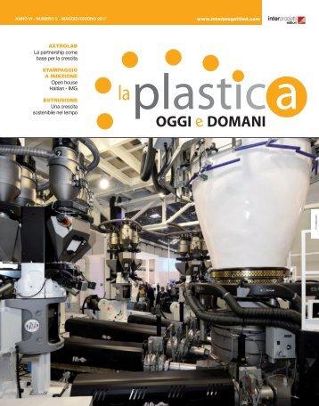 La plastica oggi e domani  Maggio e Giugno 2017