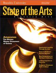 State of the Arts - Brandeis University
