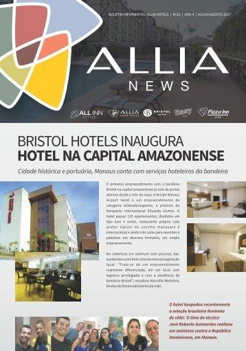 Jornal Allia News - Edição Julho a Agosto 2017