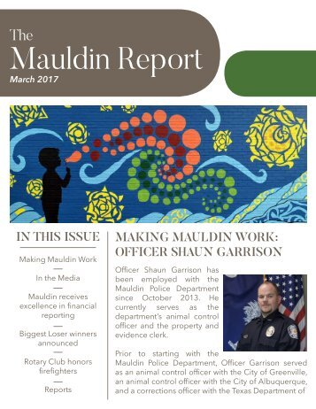 Mauldin March Report