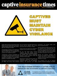 Captive Insurance Times Issue 119