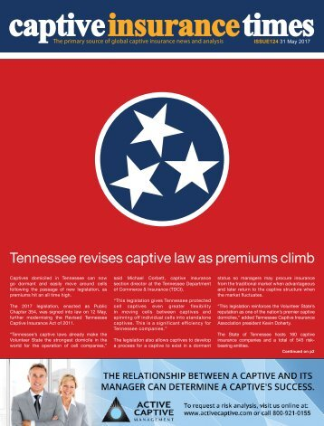 Captive Insurance Times Issue 124