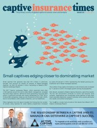 Captive Insurance Times Issue 125