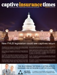 Captive Insurance Times Issue 126