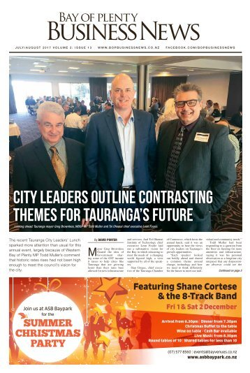 Bay of Plenty Business News July/August 2017