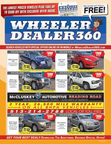 Wheeler Dealer Issue 29, 2017