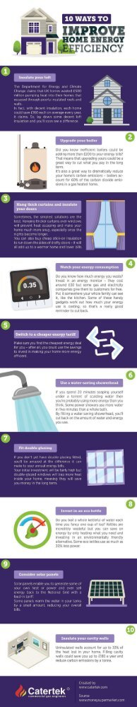 10 Ways to Improve Home Energy Efficiency