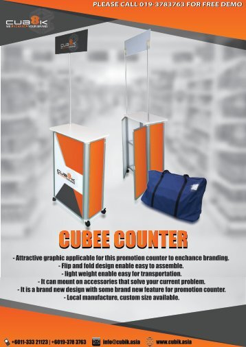 Cubee Counter
